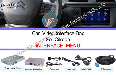 1.2GHZ HD In Dash Car Navigation Systems For Citroen Support TMC