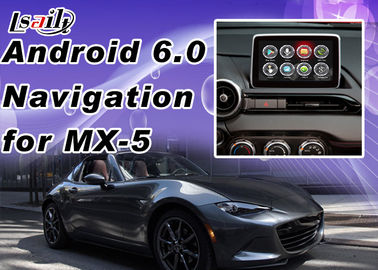 Plug&Play Android Auto Interface For Mazda MX-5 2 3 6 CX -3 CX -5 Support Apps  Miracast WIFI Yandex Online Map