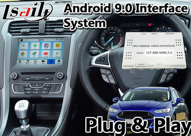 Ford SYNC3 Android Car Interface , 9.0 Navigation Video Interface Box For Mondeo