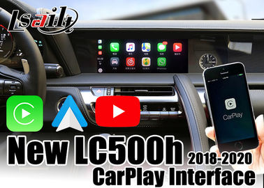 CarPlay/navigation automatique de multimédia voiture d'Android pour Lexus LC500h 2018-2020 avec YouTube