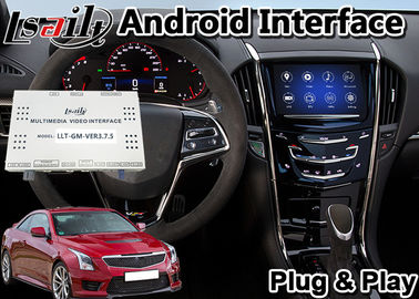 Lsailt Android 9.0 Multimedia Video Interface for Cadillac ATS 2014-2020 CUE System , Car GPS Navigation Plug and Play