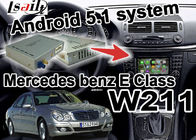Chine Navi visuel youtube du wifi 3D de boîte d'interface de navigation de classe du benz W203 C de Mercedes usine