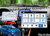 Interface automatique de Plug&Play Android pour le foyer Kuga de fiesta de Ford Ecosport avec la carte vivante Miracast de la navigation 3D