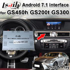 Chine Interface d'automobile d'Android 7,1 pour Lexus GS300 GS200t GS450h 2013-2018 avec la navigation d'Android, ROM 32G par Lsailt usine