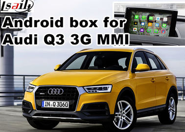 Chine Interface visuelle de multimédia d'Android pour Audi Q3, dispositifs de navigation de généralistes distributeur