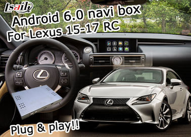 Boîte visuelle de navigation d'Android 6,0 d'interface de Lexus pour le waze 2015-2017 de Lexus RC youtube