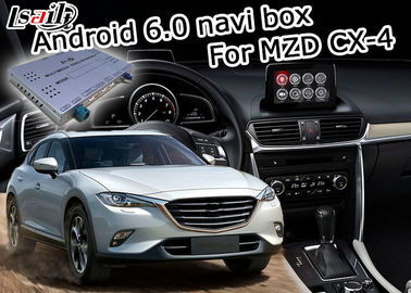 Chine Interface visuelle de multimédia de Mazda CX-4 Android 6,0 avec le contrôle de bouton d'origine de Mazda distributeur