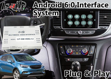 Interface visuelle de navigation d'Android 6,0 pour Opel Mokka/le système 2014-2018 Intellilink de Crossland X/insignes