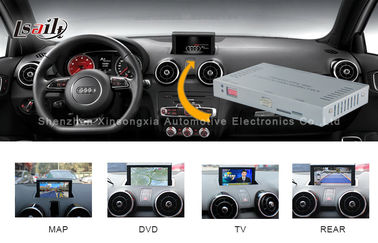 Chine 2012 - 2016 les médias A1/Q3 d'Audi se connectent par interface à la navigation de contact et au DVD distributeur